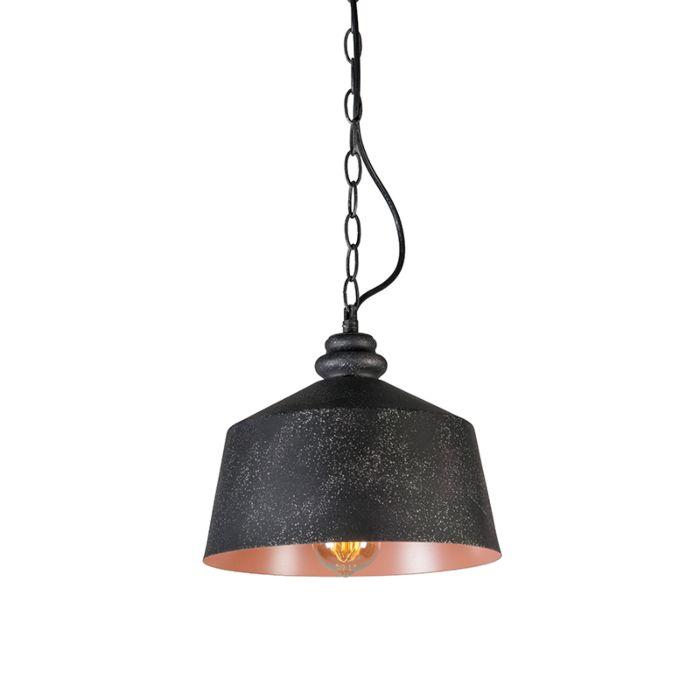 Lámpara-colgante-SMART-1-negra