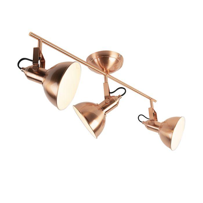 Plafón-romántico-cobre-3-luces---TOMMY