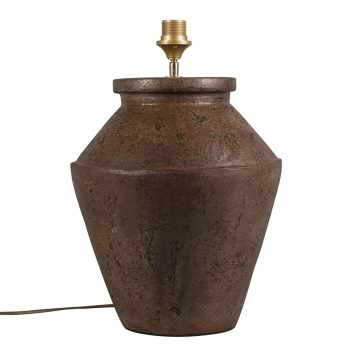 Lámpara-de-mesa-PINA-óxido