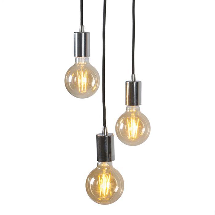 Lámpara-colgante-moderna-cromada---Facil-3