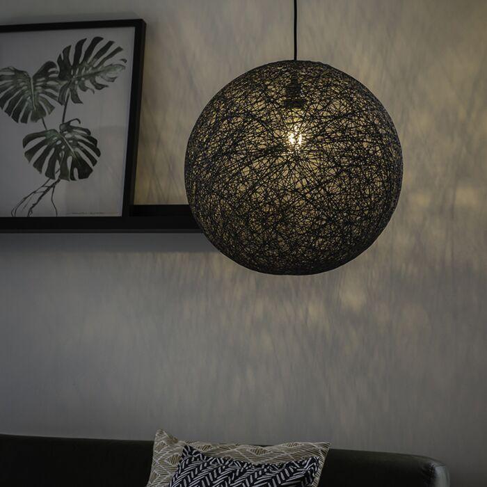 Lámpara-colgante-de-diseño-gris---Corda-45
