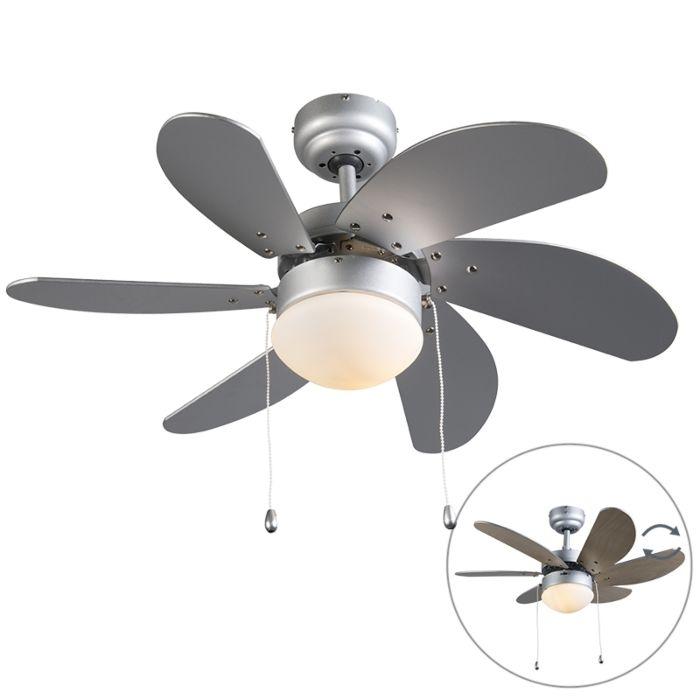Ventilador-de-techo-FRESH-30-gris/madera