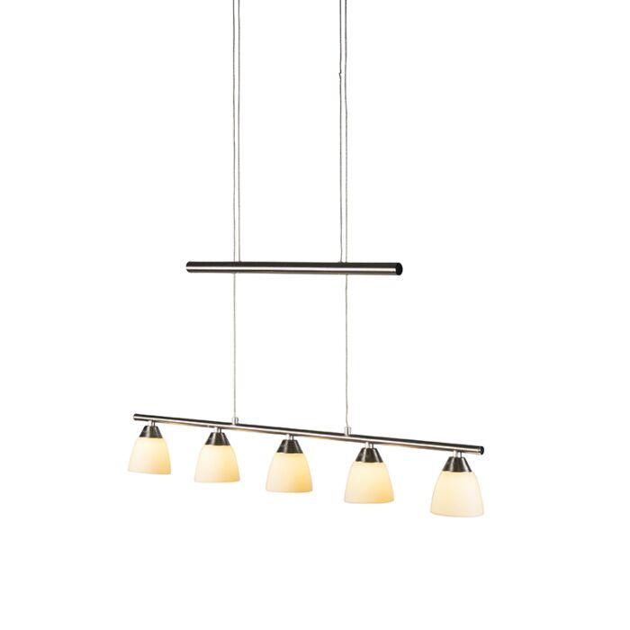 Lámpara-colgante-COLUMBIA-acero