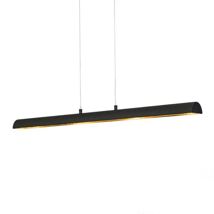 Lámpara-colgante-TUNNEL-negra