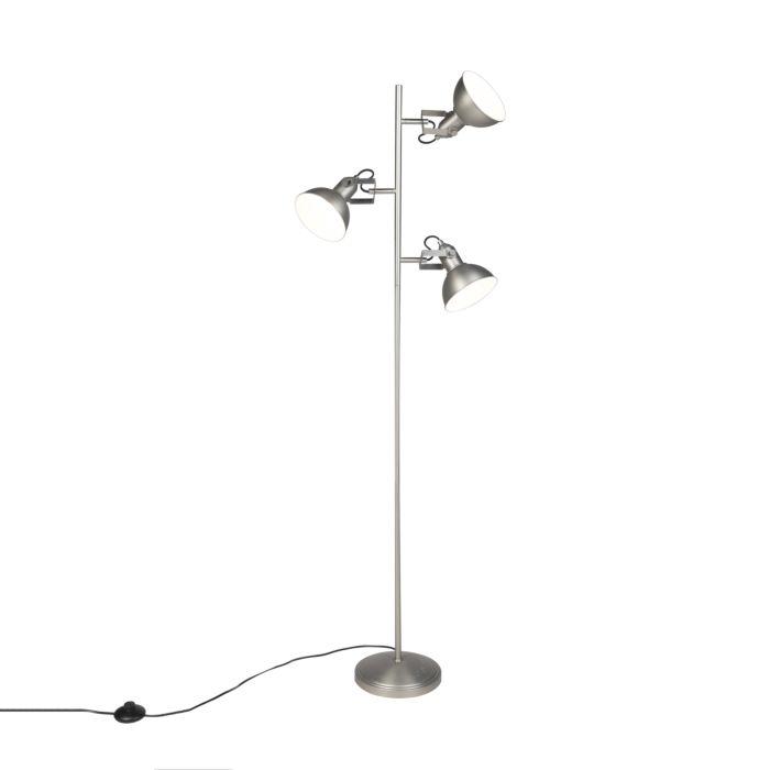Lámpara-de-pie-industrial-acero-3-luces---TOMMY