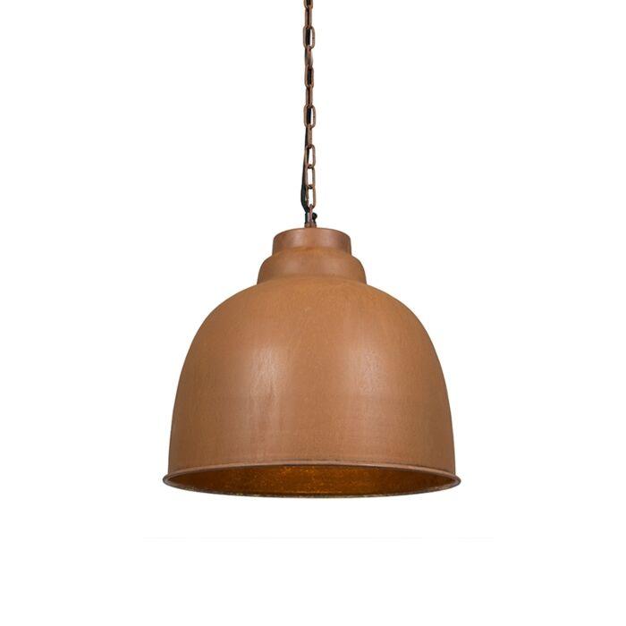 Lámpara-colgante-vintage-marrón-óxido---Patriot