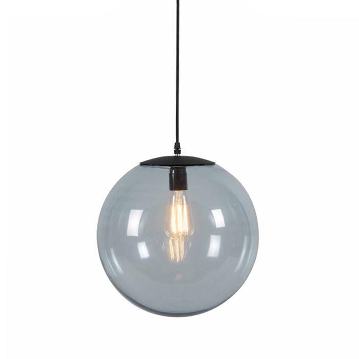 Lámpara-colgante-Art-Deco-gris-35-cm---PALLON