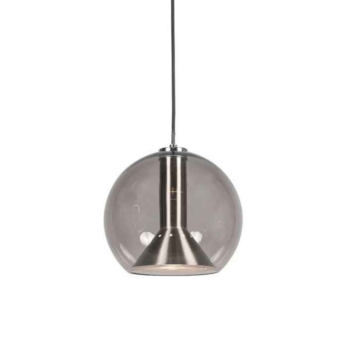 Lámpara-colgante-retro-negra---STRIKE-Small