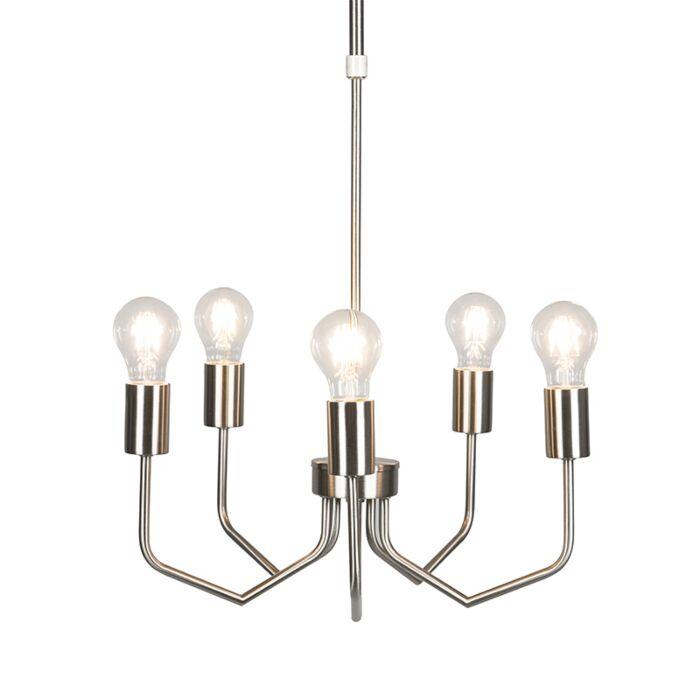 Lámpara-colgante-RITZ-5-acero