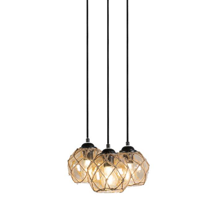 Lámpara-colgante-COLORATO-3-negra