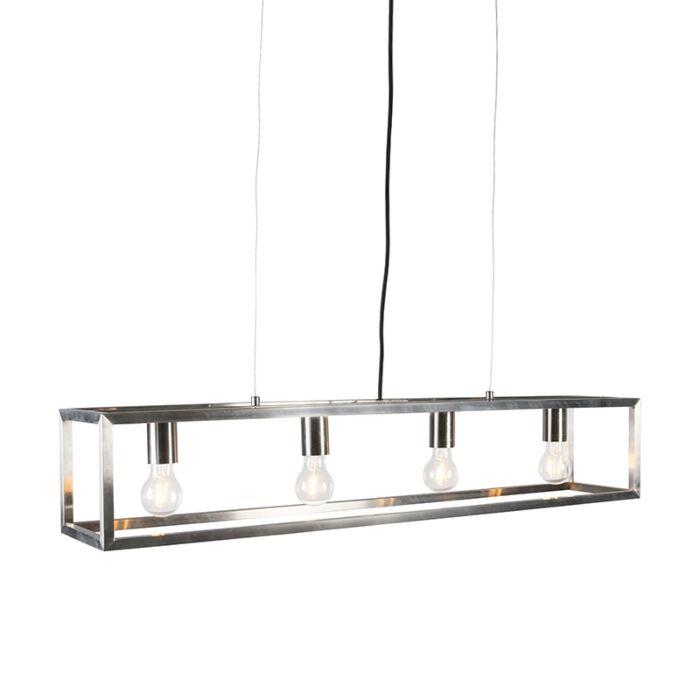 Lámpara-colgante-acero---CAGE-4