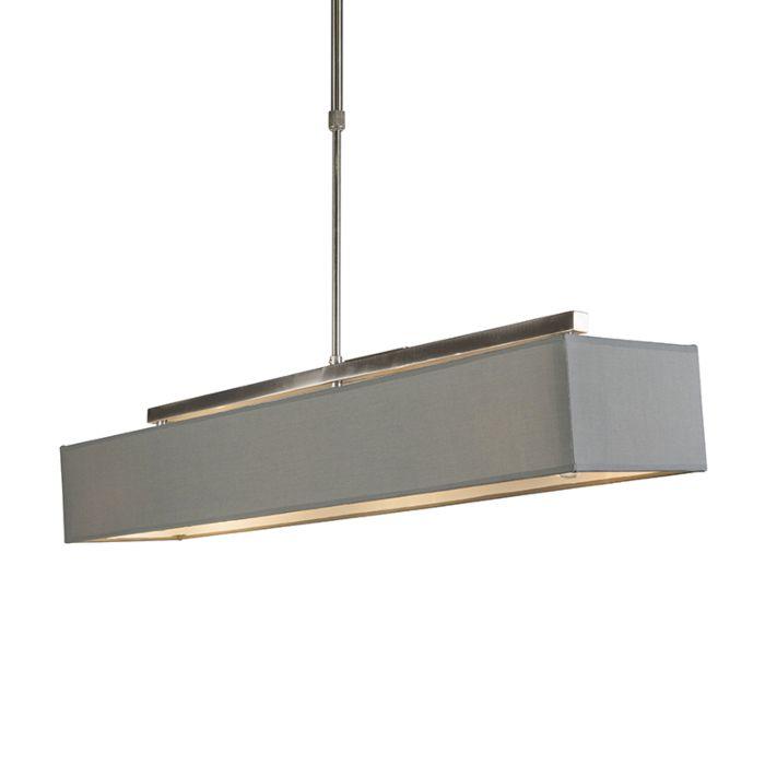 Lámpara-colgante-moderna-gris---VT-1