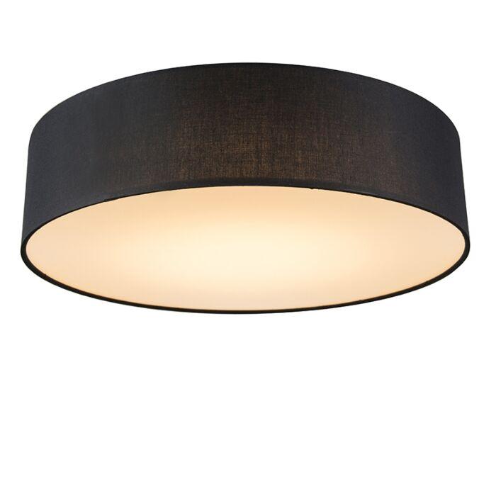 Plafón-negro-40cm-LED---DRUM-LED