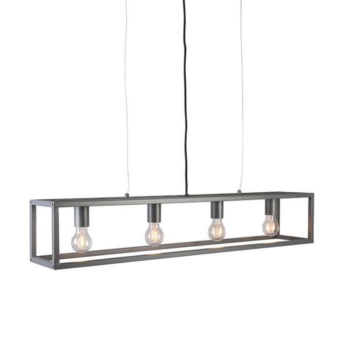 Lámpara-colgante-moderna-antracita---Jaula-4