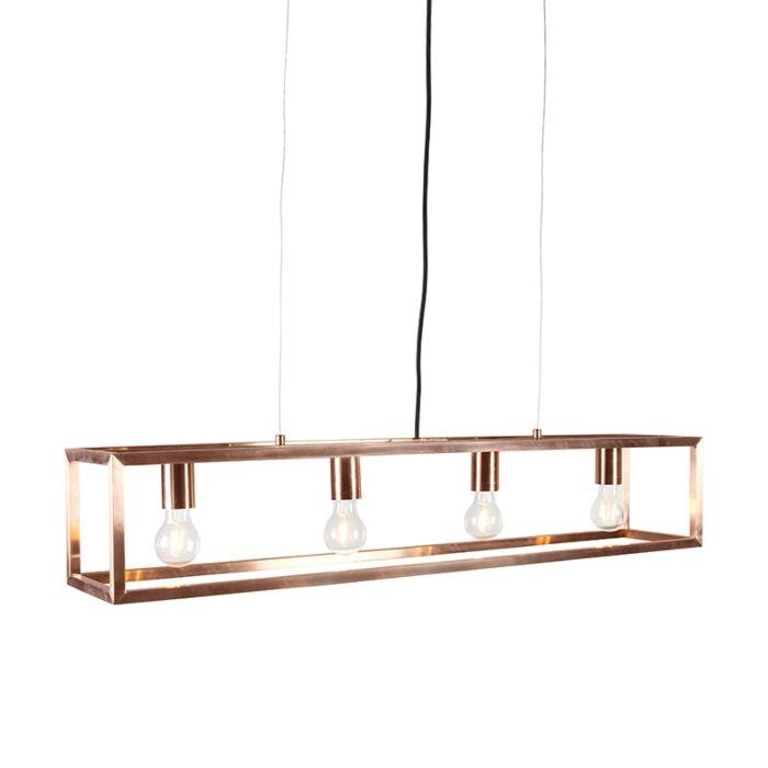 Lámpara-colgante-cobre--CAGE-4
