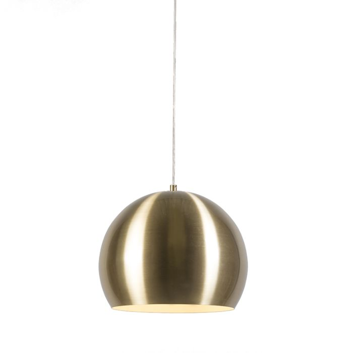 Lámpara-colgante-ORB-dorada-28cm