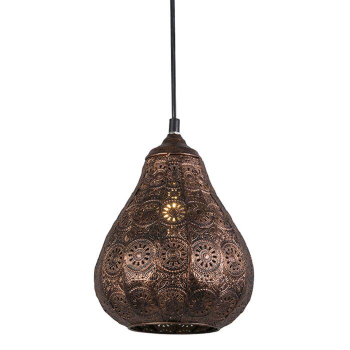 Lámpara-colgante-oriental-cobre---BILLA