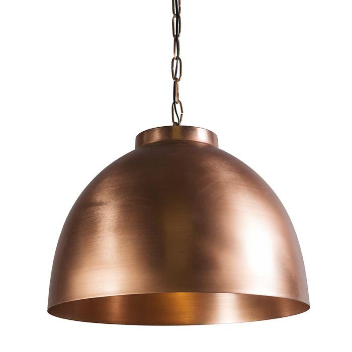 Lámpara-colgante-HOODI-XL-cobre-mate