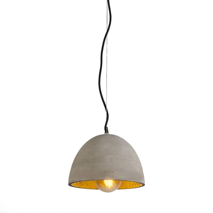 Lámpara-colgante-CUPOLA-hormigón