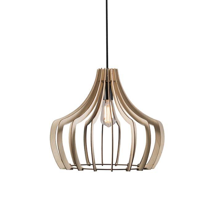 Lámpara-colgante-diseño-madera---TWAN