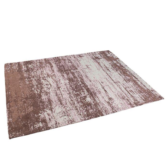 Alfombra-vintage-rectangular-160x230cm-rosa-envejecido---KOCHI