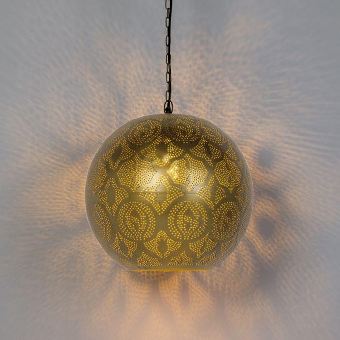 Lámpara-colgante-oriental-dorado---ZAYN-2