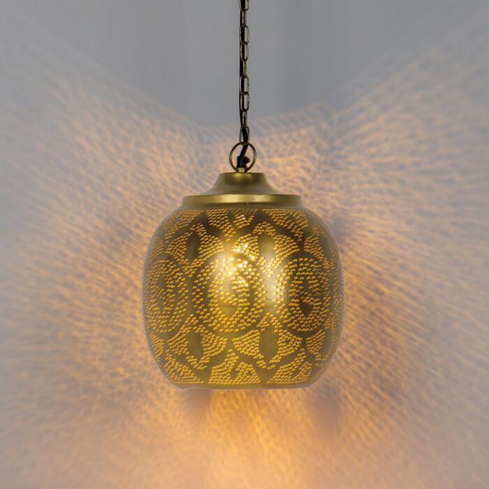 Lámpara-colgante-oriental-dorado---ZAYN-4