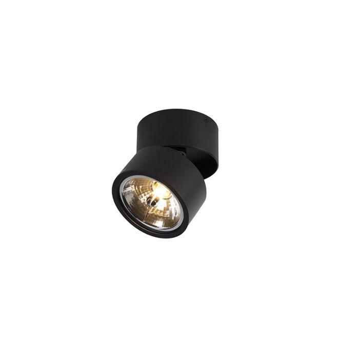 Foco-moderno-negro-orientable---GO-Nine-Tubo