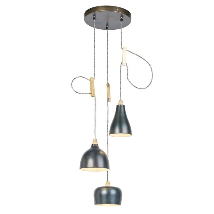 Lámparas-colgantes-diseño-3-zinc---VIDYA
