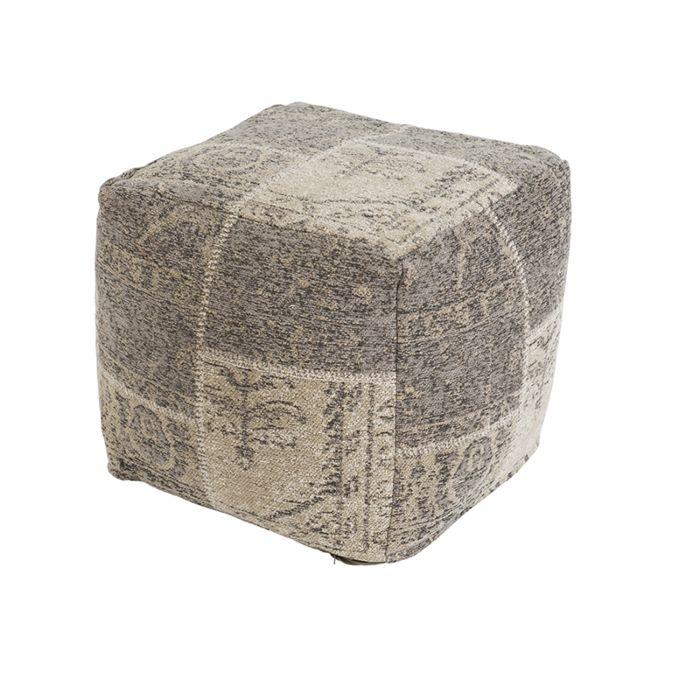 Puf-vintage-cuadrado-gris-45-x-45-x-45cm---AGRA