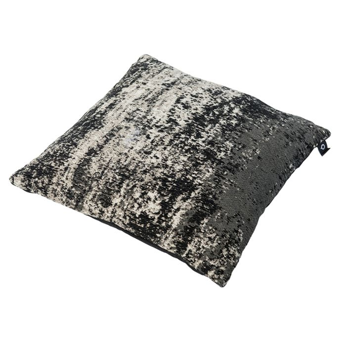 Cojín-vintage-cuadrado-negro/beige-45-x-45cm---KOCHI