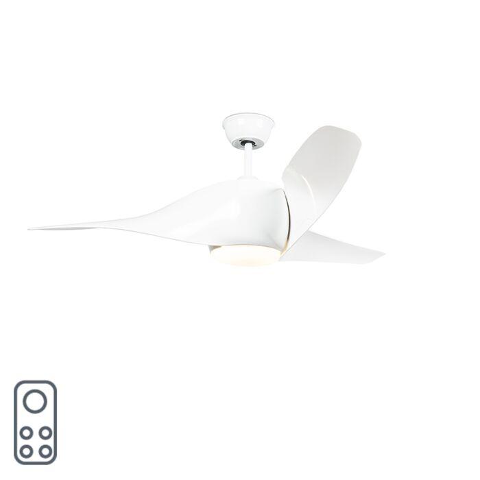 Ventilador-con-plafón-SIROCCO-50-LED-blanco