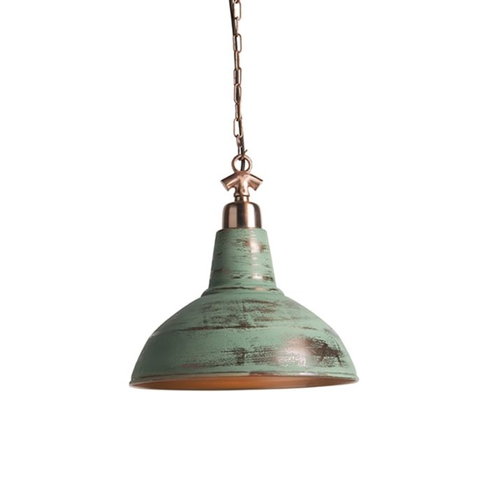 Lámpara-colgante-industrial-cobre-antiguo---Goliath