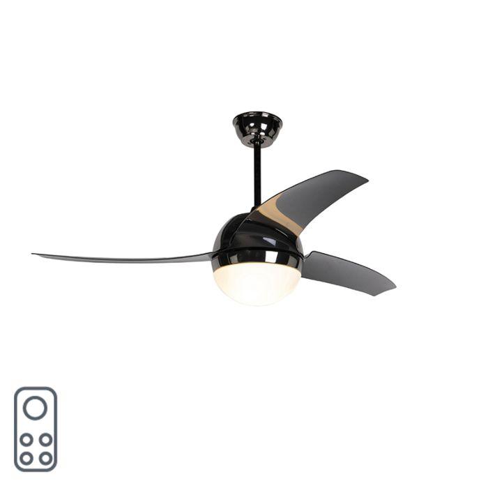 Ventilador-de-techo-negro-con-control-remoto---Bora-52