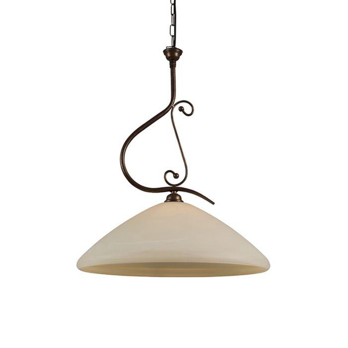Lámpara-colgante-LUCCA-50-con-cristal-de-murano