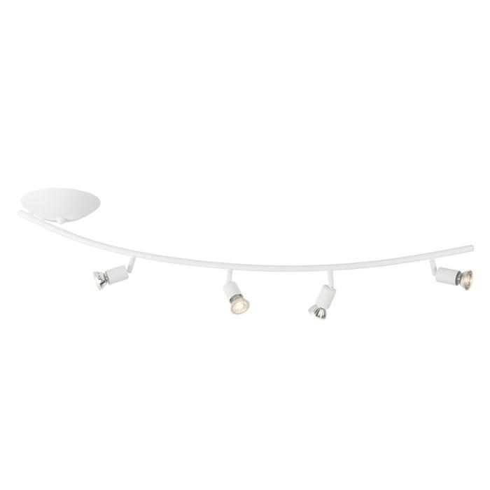 Plafón-moderno-curvado-blanco---JEANY-4