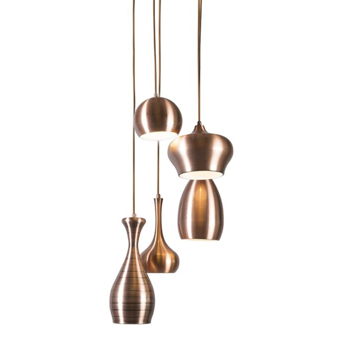 Lámpara-colgante-DROPS-5-cobre