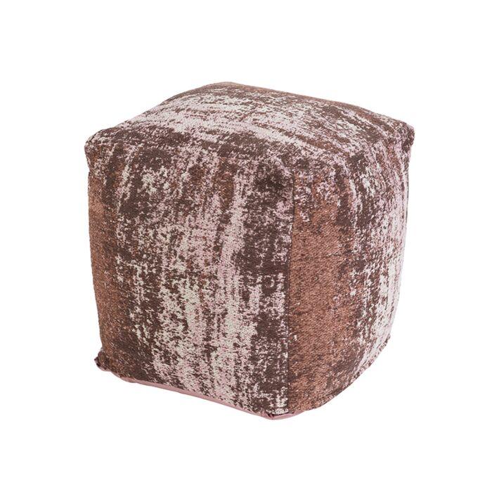 Puf-vintage-cuadrado-rosa-envejecido-45-x-45-x-45cm---KOCHI