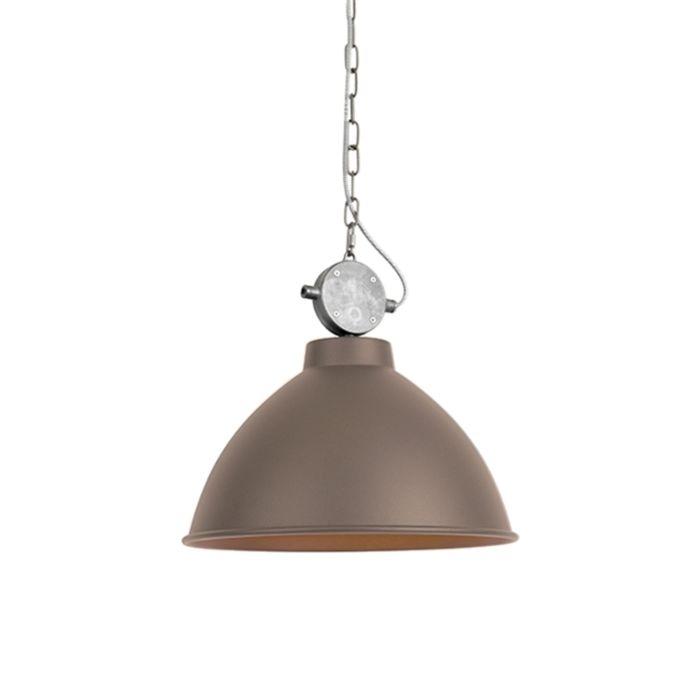 Lámpara-colgante-industrial-marrón---Anterio-38