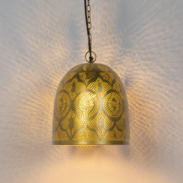 Lámpara-colgante-oriental-oro/latón---ZAYN-3