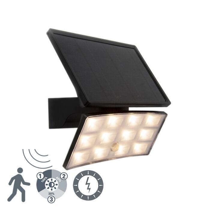 Proyector-negro-IP44-con-LED-con-sensor-de-movimiento-8W---Flip