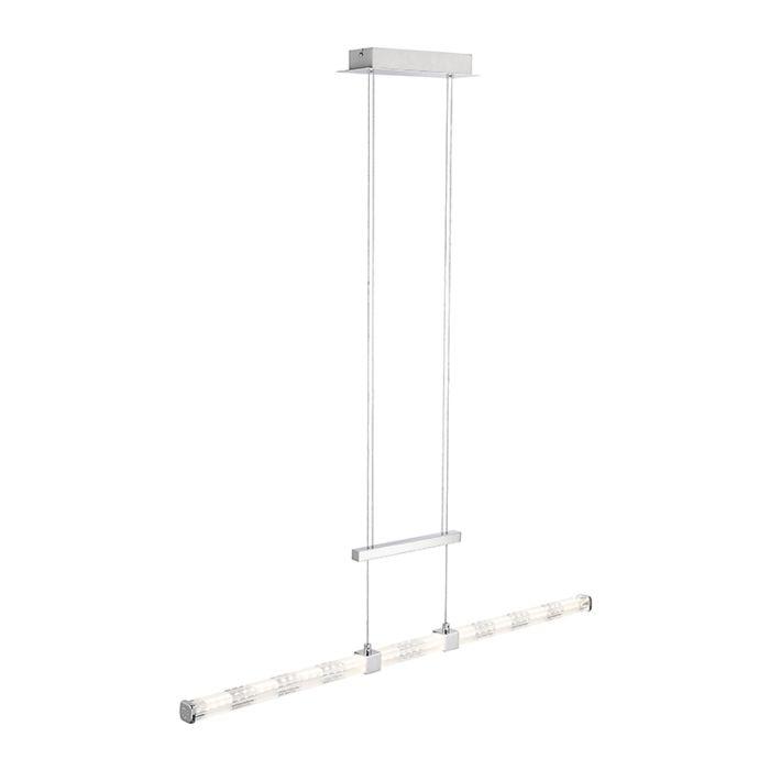 Lámpara-colgante-recta-moderna-cromo-con-LED--KANIKA