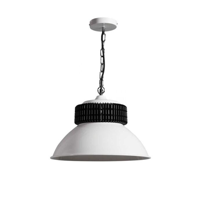 Lámpara-colgante-GEARBOX-blanca