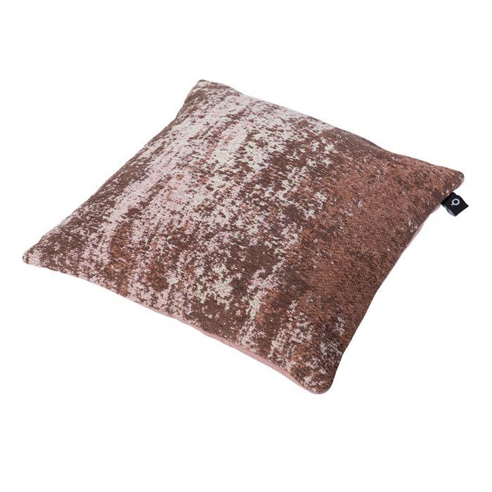 Cojín-vintage-cuadrado-rosa-envejecido-45-x-45cm---KOCHI