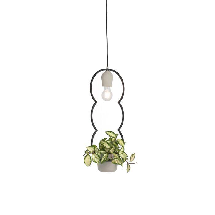 Lámpara-colgante-rústica-hormigón---FAUNA-B