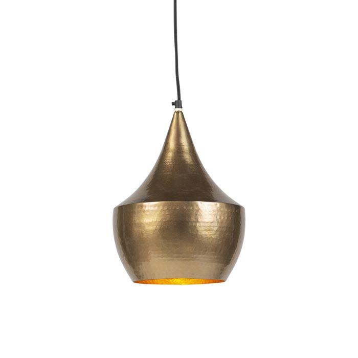 Lámpara-colgante-vintage-oro---DUKE-B