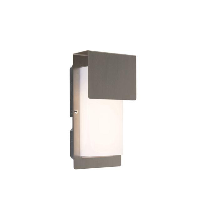 Aplique-de-exterior-de-diseño-en-acero-con-LED-IP44---Bink-1
