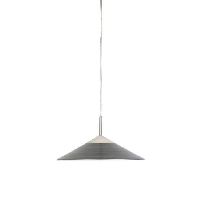 Lámpara-colgante-moderna-gris-con-LED---LUPOS