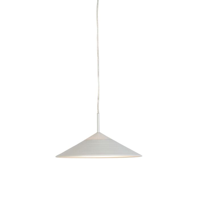Lámpara-colgante-moderna-blanca-con-LED---LUPOS
