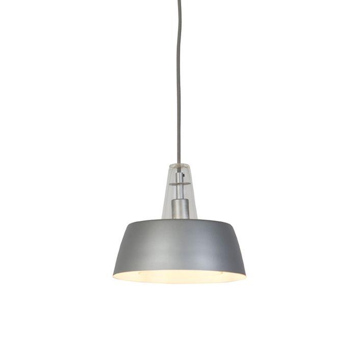 Lámpara-colgante-moderna-gris---MANU